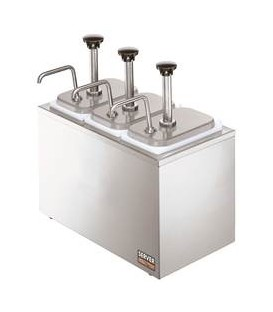DISPENSADORA DE SALSA 3B INOX